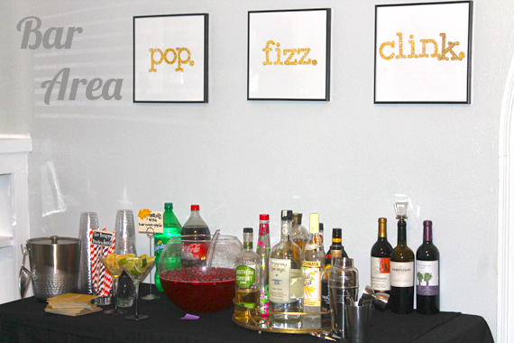 Pop. Fizz. Clink. Bar signage