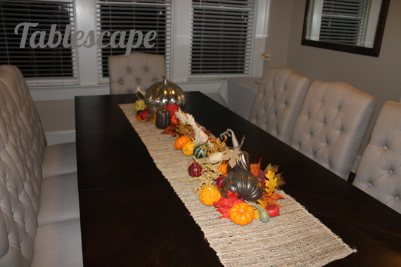 Fall Friendsgiving Tablescape
