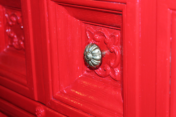 Drawer Detail and Pull