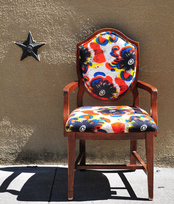 Fun Fabric Chair Upholstery