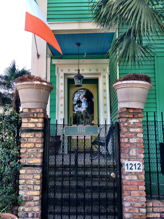 New Orleans Colorful House
