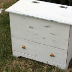 Annie Sloan Pure White Chalk Paint Shabby Chic Trunk