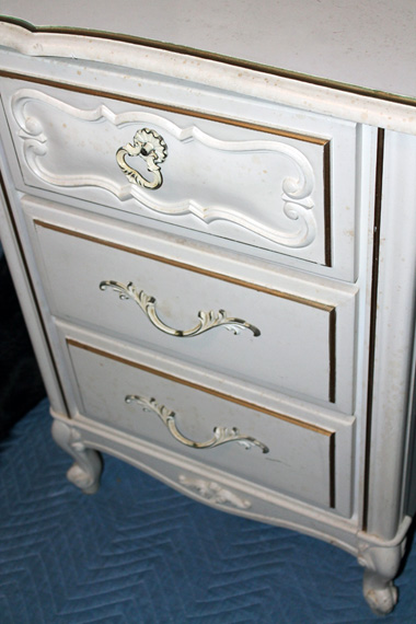French Provincial Before Drawers