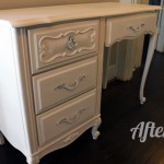 French Provincial Desk After