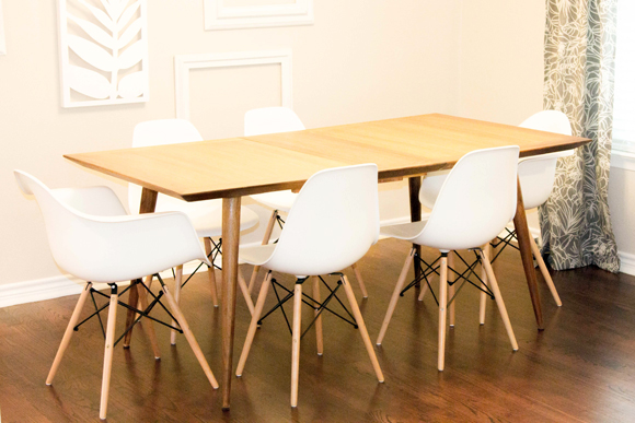 Mid Century Modern Dining Table Archives Happy Chapter