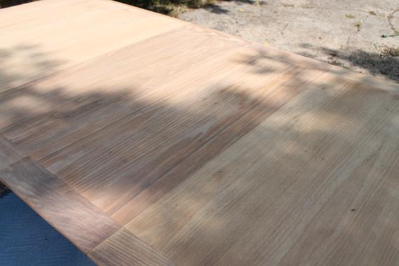 Mid Century Modern Table Sanded 3