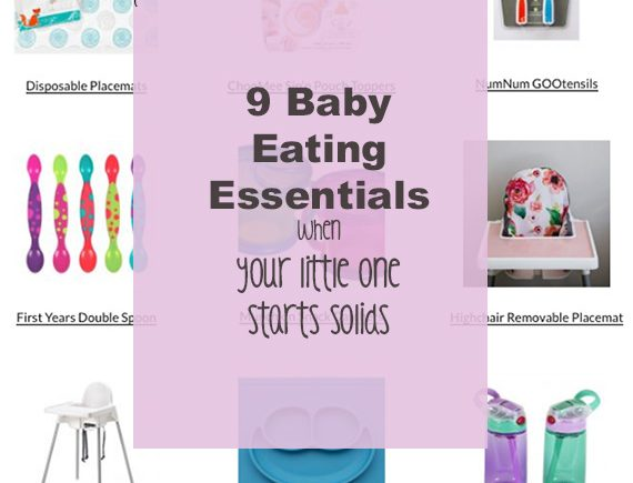 9 Baby Eating Essentials When Your Baby Starts Solids I Happy Chapter