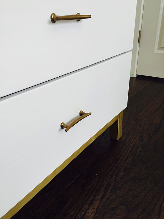 Custom Ikea Dresser redo by Happy Chapter