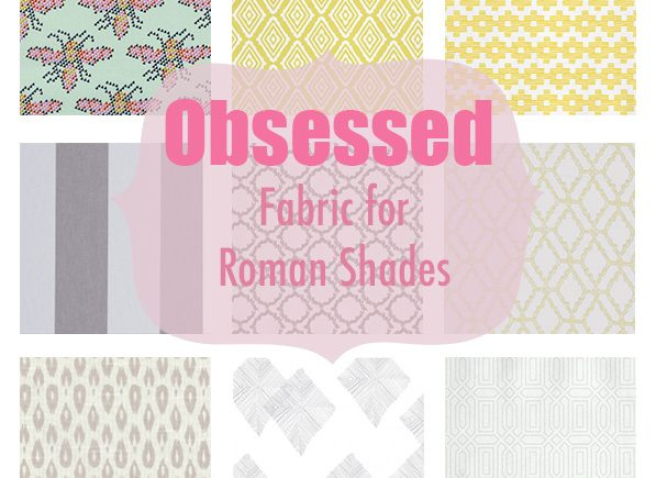 Fabric for Shades and Curtains Obsessed Series by Happy Chapter